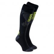 Шкарпетки INSPY-BLK/GR MELANGE/LIM PUNCH HITEC