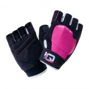 Спортивні рукавички MILL-BLACK / PINK YARROW / WHITE IQ
