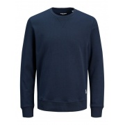 Толстовка JJEBASIC SWEAT CREW NECK NOOS 12181903-Navy Blazer-Fit:REG Jack & Jones