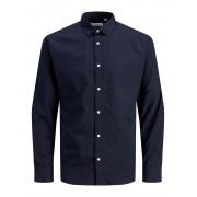 Сорочка JJJOE SHIRT LS PLAIN 12187222-Navy Blazer-Fit:/SLIM Jack & Jones
