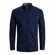 Сорочка JJJUSTIN DETAIL SHIRT LS 12188948-Navy Blazer-Fit:SLIM Jack & Jones