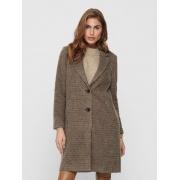Пальто ONLAGNETE  ASTRID CHECK COAT CC OTW 15228610-Glazed Ginger ONLY