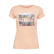 Футболка ONLLUX LIFE FIT S/S TOP BOX JRS 15231606-Peach Melba ONLY
