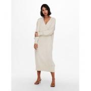 Сукня ONLNEW TESSA L/S MIDI V-NECK DRESS KNT 15236372-Pumice Stone ONLY