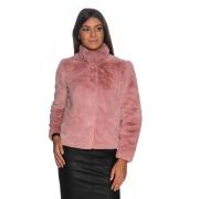 Куртка зі штучного хутра ONLVIDA FAUX FUR JACKET OTW NOOS 15160013-Dusty Rose ONLY