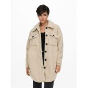 Куртка ONLNEWCAMILLA TEDDY SHACKET CC OTW 15228419-Oatmea ONLY