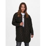 Пальто ONLTANZIA LONG QUILTED SHACKET CC OTW 15228453-Black ONLY