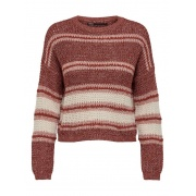 Пуловер ONLINA L/S PULLOVER CC KNT 15229820-Ash Rose-Detail:W. PUMICE STONE / ROATED ONLY