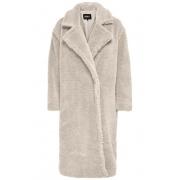 Пальто ONLEVELIN LONG TEDDY COAT CC OTW 15230231-Moonbeam ONLY