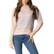 Пуловер ONLGRACE LIFE L/S PULLOVER EX KNT 15231323-Pink Nectar-Detail:W. MELANGE ONLY