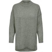 Пуловер ONLSILJA L/S LOOSE PULLOVER CC KNT 15231369-Shadow-Detail:W. MELANGE ONLY