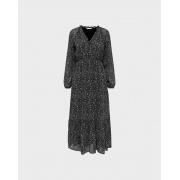 Сукня ONLSTAR L/S MAXI DRESSWVN 15240494-Black-AOP:LITTLE CHARM FLOWER ONLY