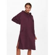Сукня ONLCHELSEA LIFE L/S OVERSIZE DRESS SWT 15241307-Winetasting ONLY