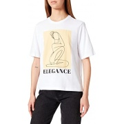 Футболка 15242224-Bright White-Print:ELEGANCE ONLY