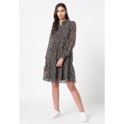 Сукня ONLFREE L/S SHIRT DRESS WVN 15245725-Black-AOP:FLOWER ONLY