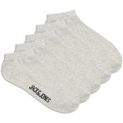 Шкарпетки 5шт JACDONGO SOCKS 5 PACK NOOS 12120278-Light Grey Melange Jack & Jones